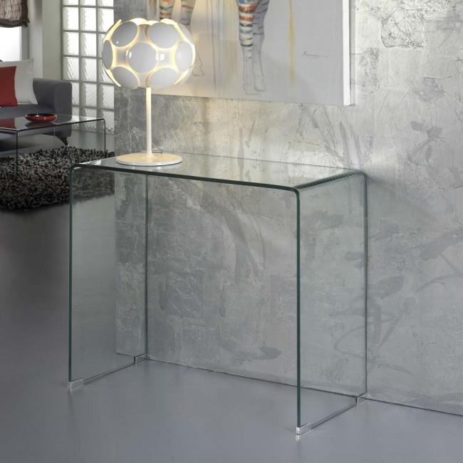 Cónsola Decorativa De Cristal Glass Lamparas Es Muebles De Cristal Decoraciones De Casa Muebles