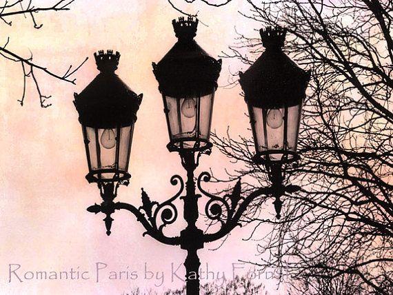 Street Lamps Paris photography