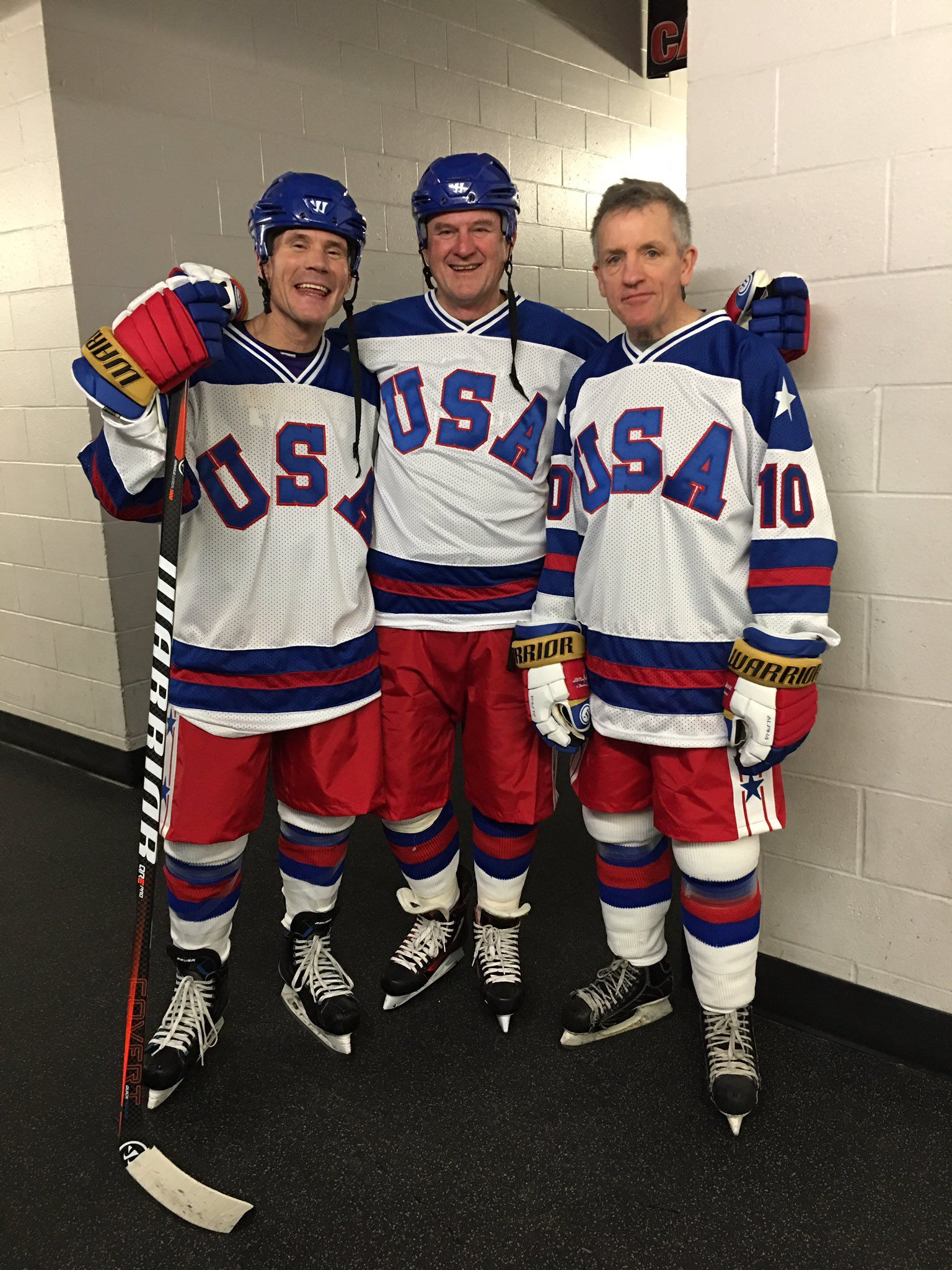 Harrington Christian And Johnson 39 Years Later Olympic Hockey Hockey Teams Us Olympics