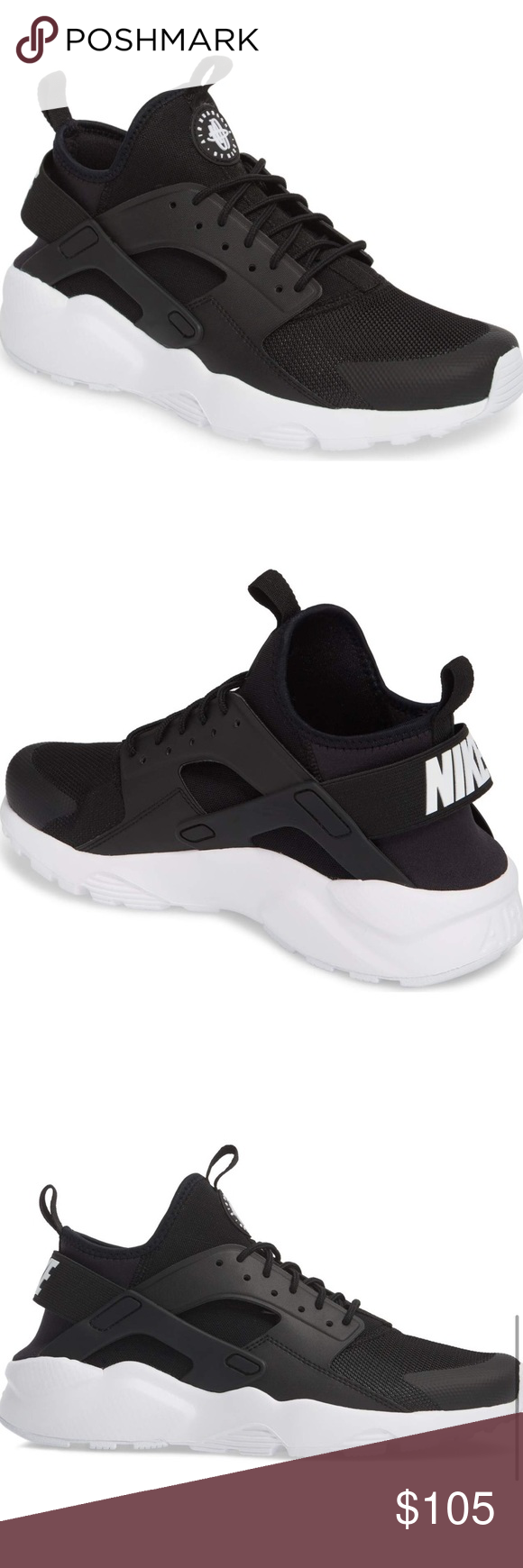 NWOB Nike Air Huarache Run Ultra' Sneaker Taille 9.5 | Summer Fashion