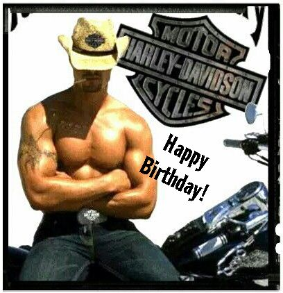 Happy Birthday Harley Davidson Cowboy | Harley D. / other cool bikes