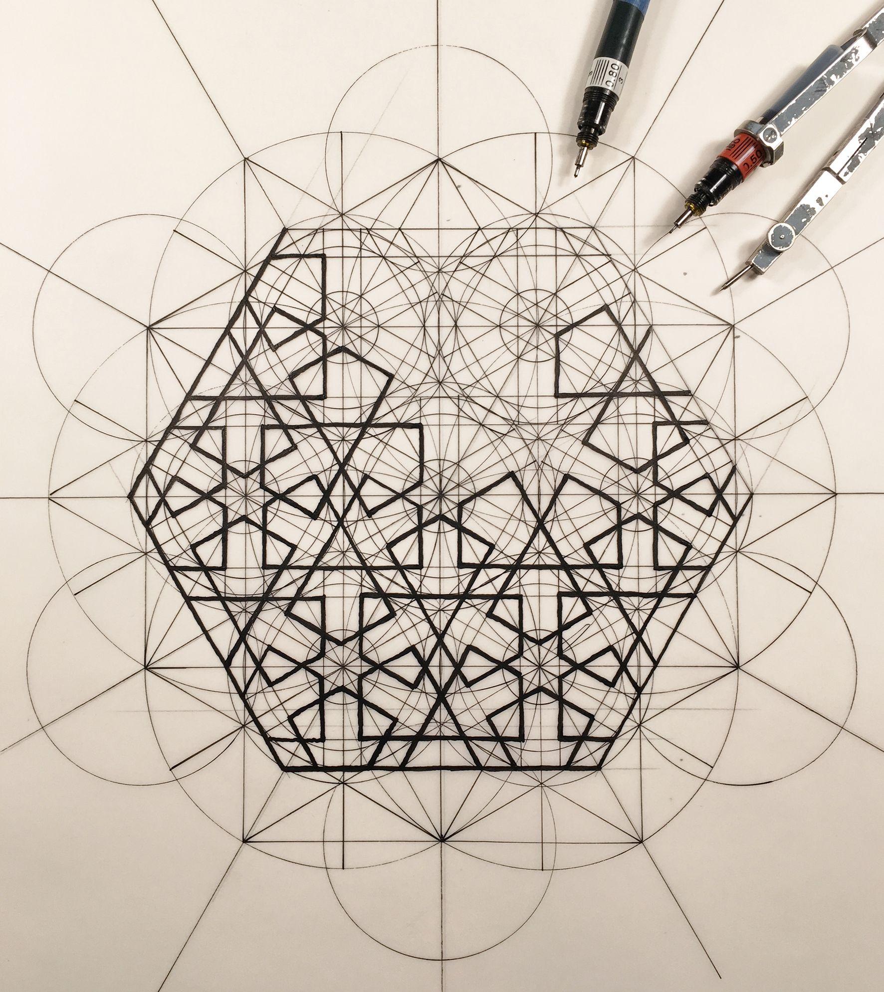 Rafael Araujo Fusiona El Arte Y La Ciencia Ilustrando A Mano Proporcion Aurea