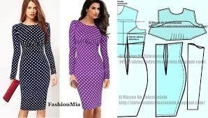 Resultado de imagen para patrones de ropa femenina faldas