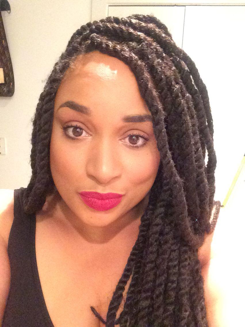 Marley Twists Braids Natural hair styles, Twist