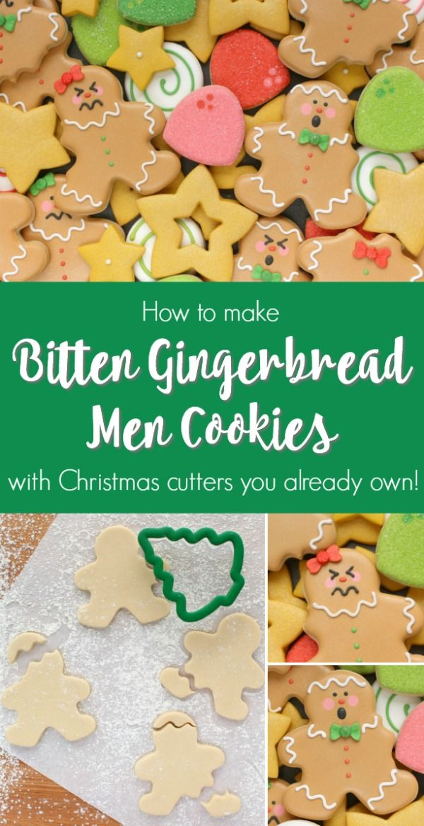 Use Common Wilton Christmas Cutters To Make These Silly Bitten