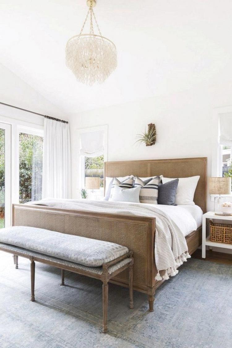The Best Modern Farmhouse Bedroom Decoration Ideas Rumah
