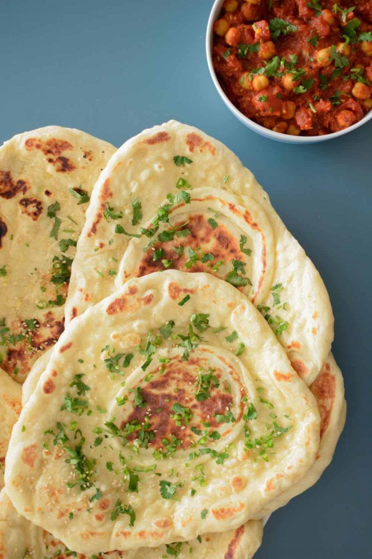 Homemade naan bread restaurant style indian side bread recipe explore homemade naan bread indian food recipes and more forumfinder Images