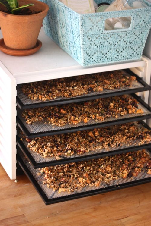 love raw granola dehydrator recipes pinterest pain blanc que manger le matin et petit. Black Bedroom Furniture Sets. Home Design Ideas