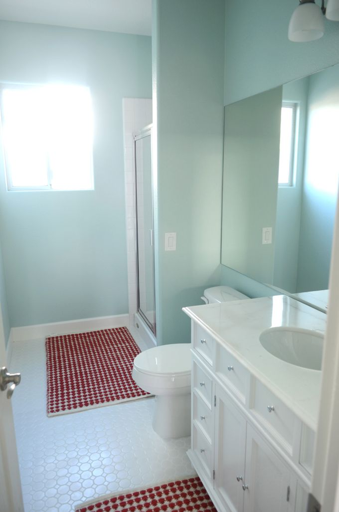 Camille roskelley dream bathroom bathroom paint colors - Most popular bathroom paint colors ...