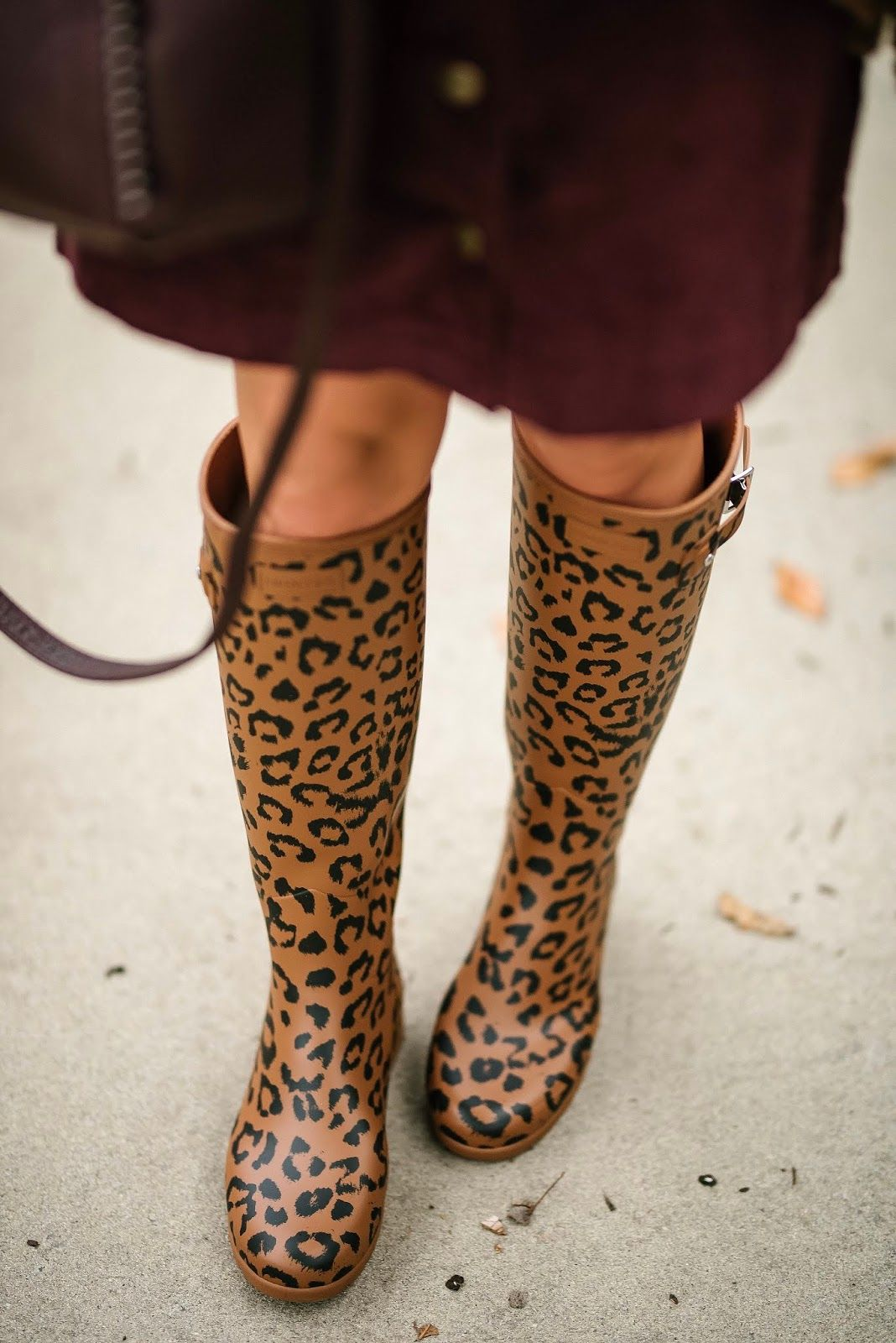 075bf332ea43 Under $30 Cord Skirt, Target Style Cardigan & Leopard Print Hunter Boots -  Something Delightful Blog