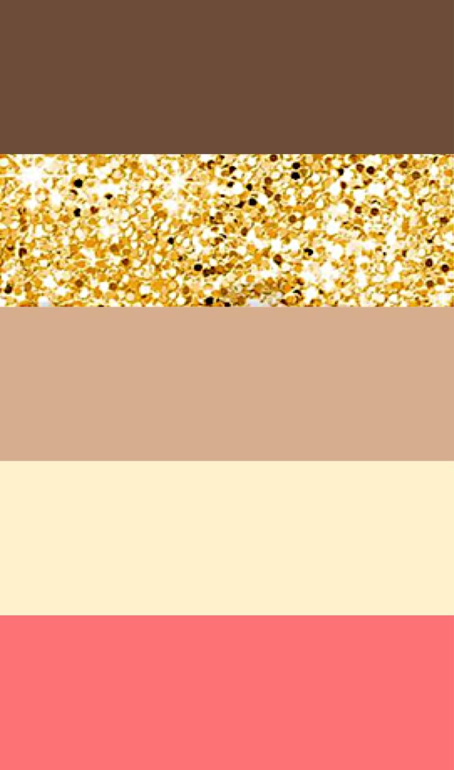 Wedding Color Palette Idea Brown Gold Tan Ivory Pink C Peach