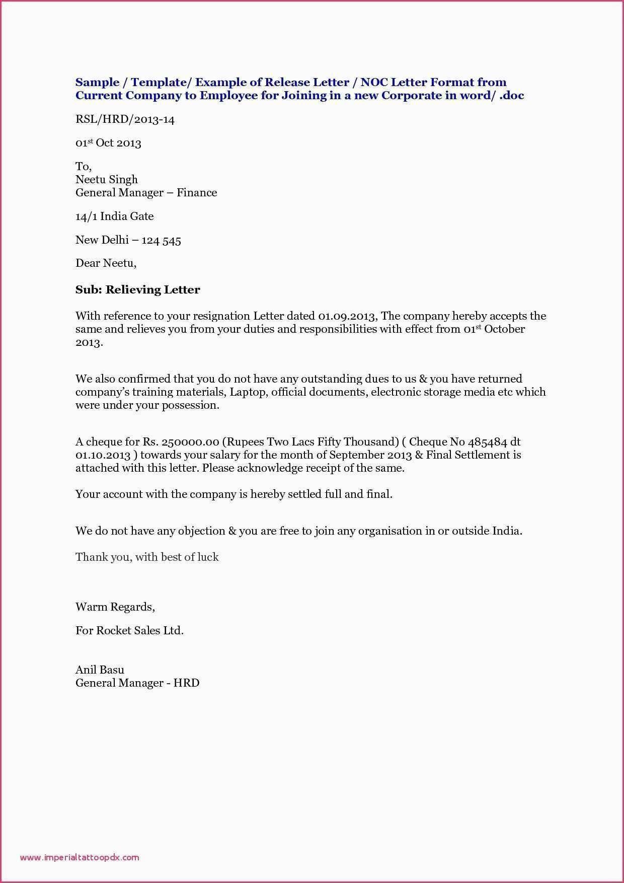 Download Fresh Noc Letter For Job Lettersample Letterformat Resumesample Resumeformat Lettering Award Template Letterhead Format