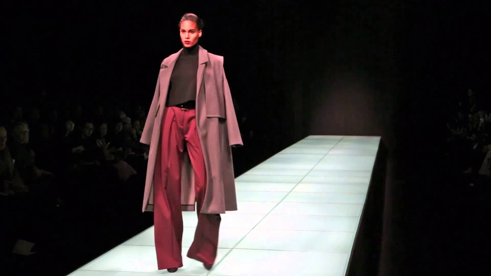 Anteprima fashion show women's collection Fall Winter 2014/15