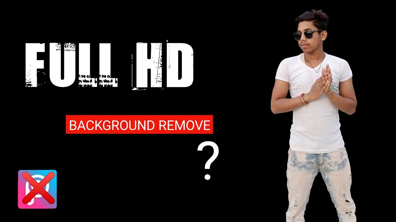 How to remove photo background in full hd quality with