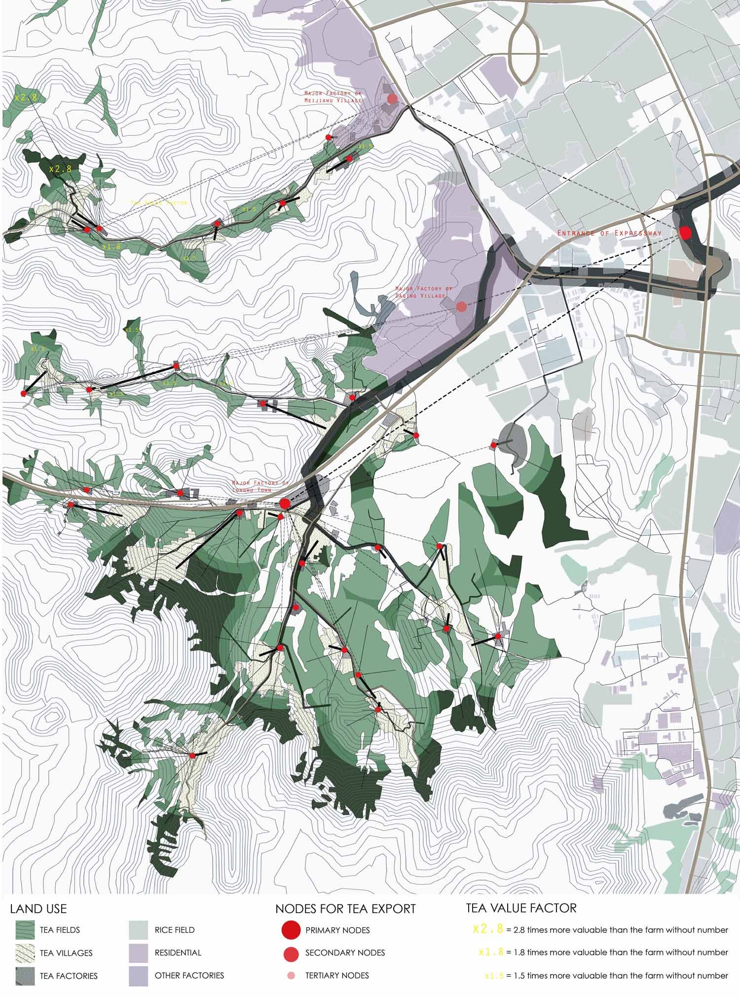 AA School Of Architecture Projects Review 2011 - Landscape Urbanism - Zijiang District | Graph ...