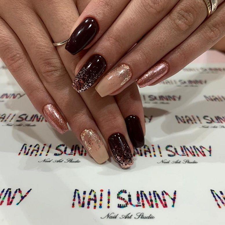 Gorgeous Nail Art With Glitter Polish – Glitter Nails