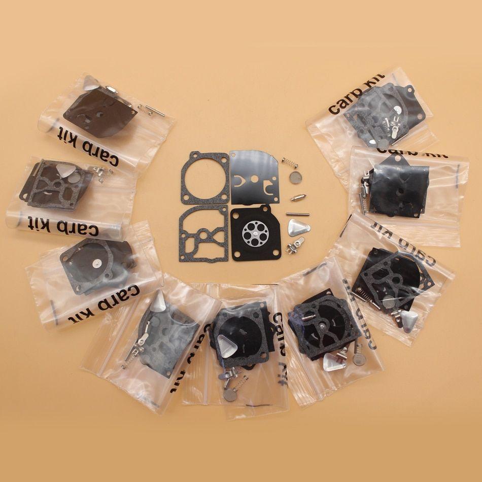 10Pcs/lot Carburetor Repair Kit Fit HUSQVARNA 55 51 49 45