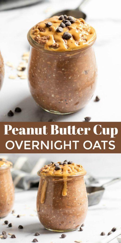 Photo of Chocolate Peanut Butter Overnight Oats Lemons + peel