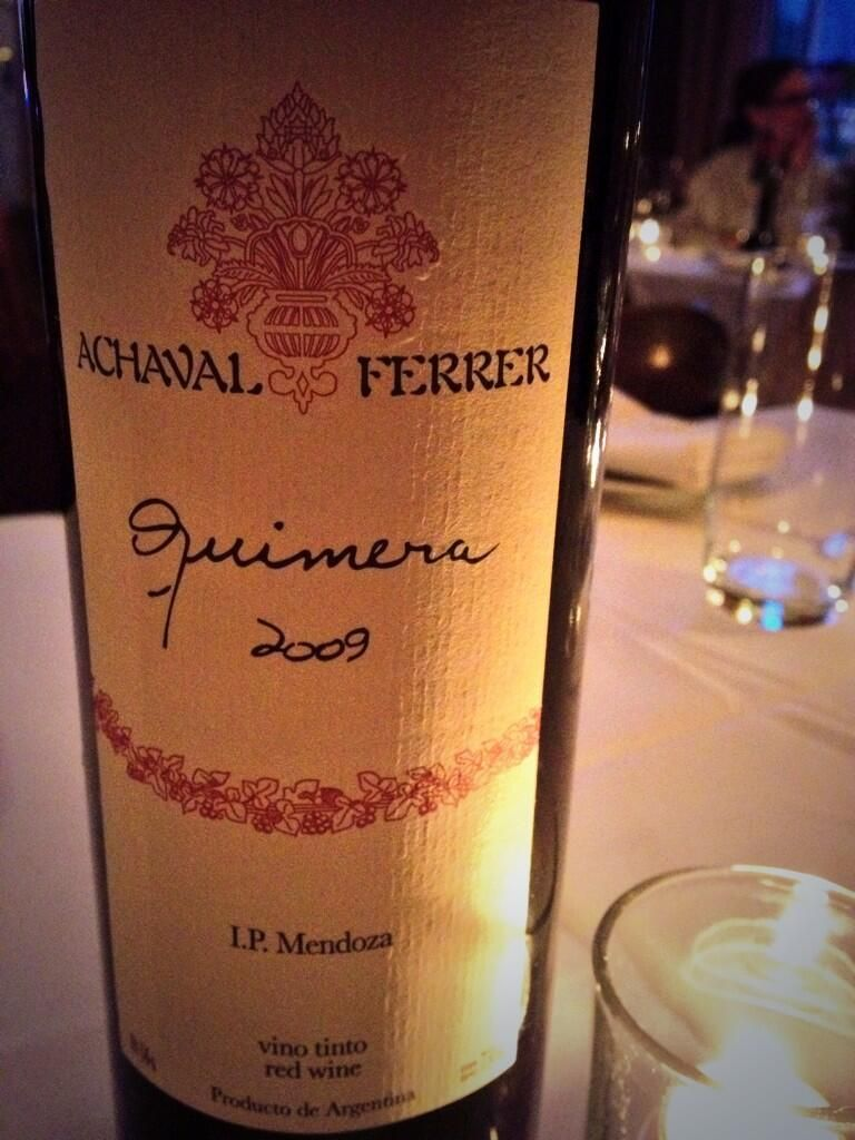 Twitter / PhillyFoodDude: Bordeaux-blend from Argentina ...