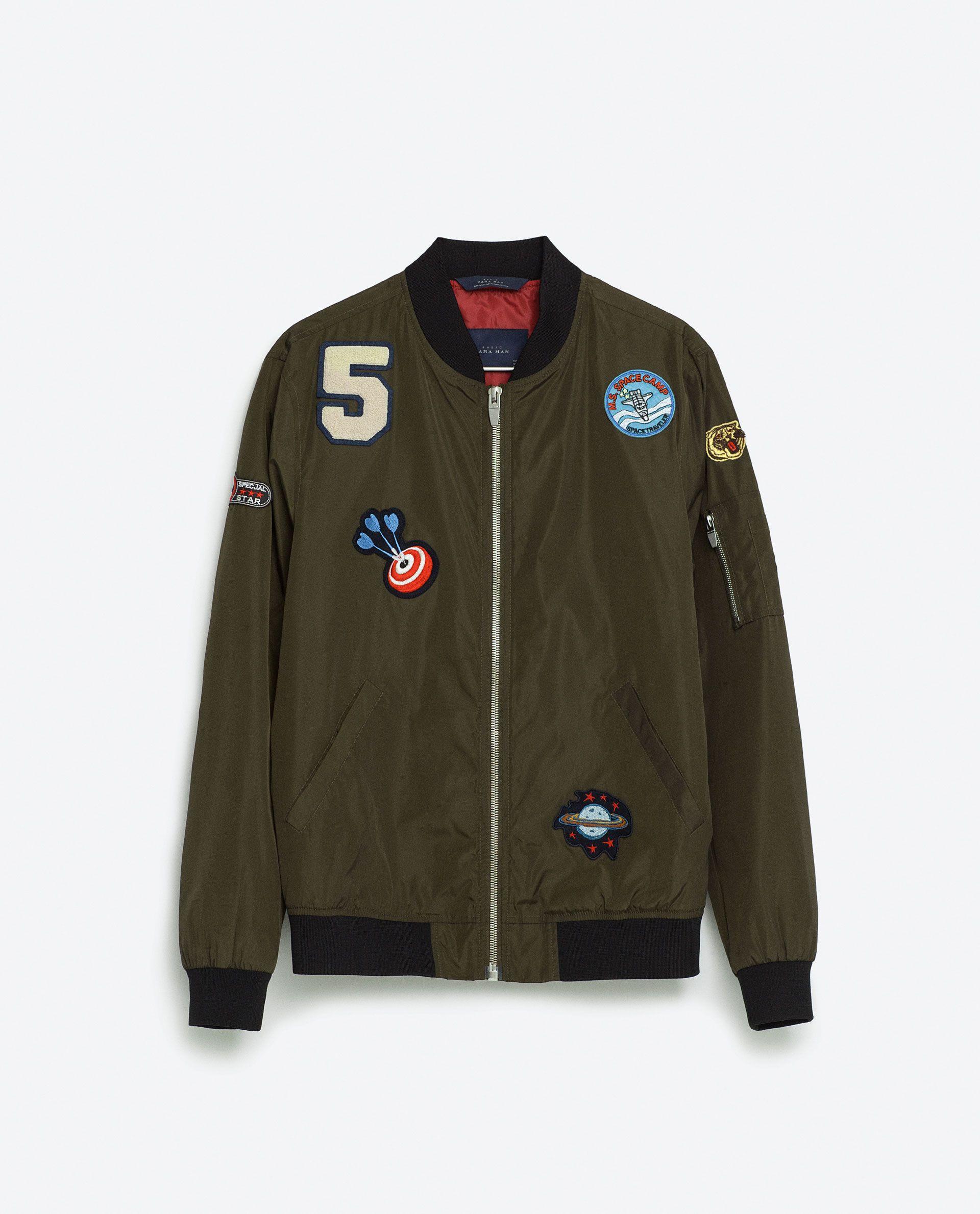 site zara.com chaqueta parches