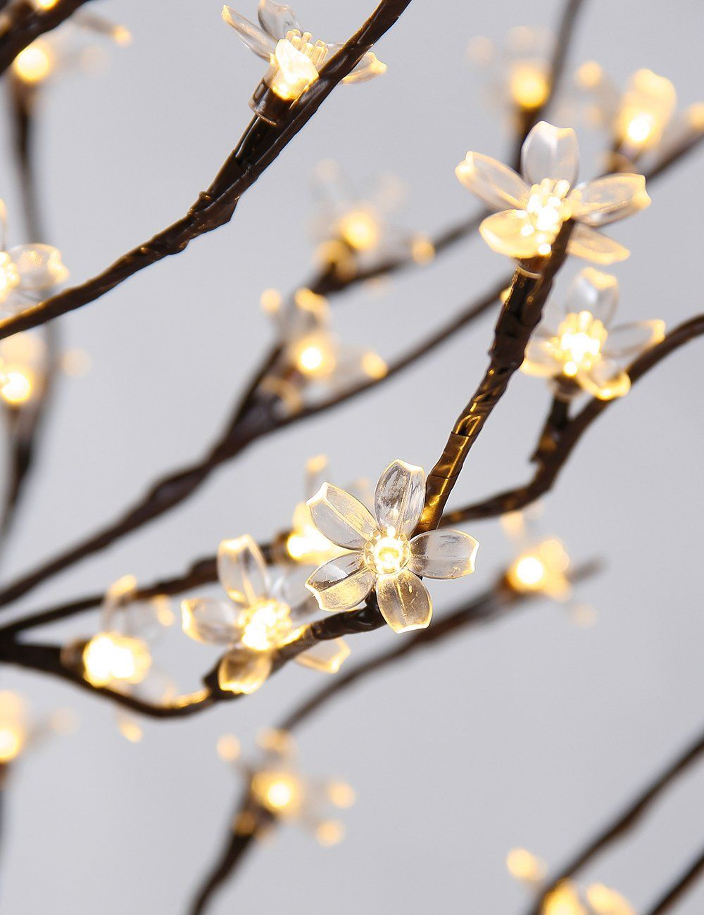 Flower led lights for home and holiday decoration