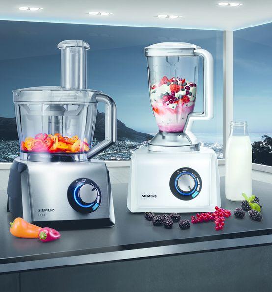 Mix it! With our FQ.1 #food processor! // Mit unserer FQ.1 Küchenmaschine gelingt jeder Mix. #kitchen #mixer #enjoysiemens