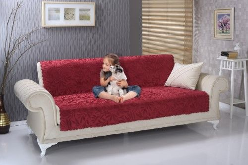Sofa BedSleeper Sofa Chiara Rose Anti slip Armless Piece Sofa Shield Futon Couch Pet Cover Furniture