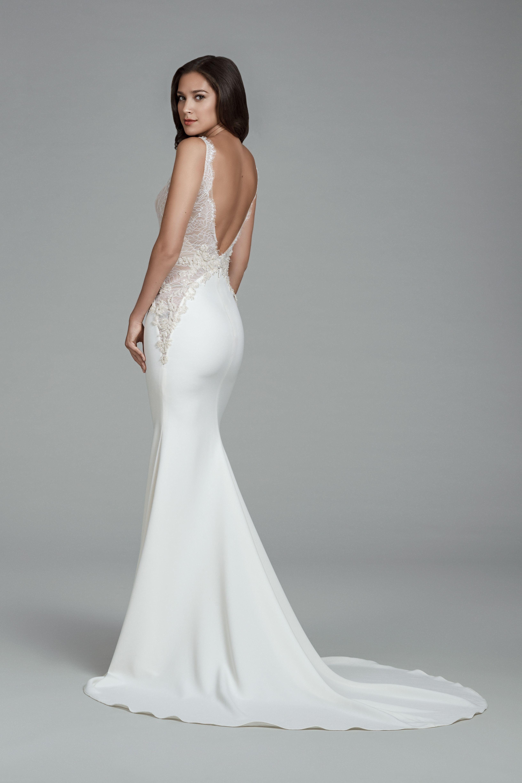 Tara Keely Wedding Dress Low-Back