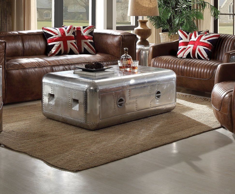 Annessia Coffee Table With Storage Coffee Table With Drawers