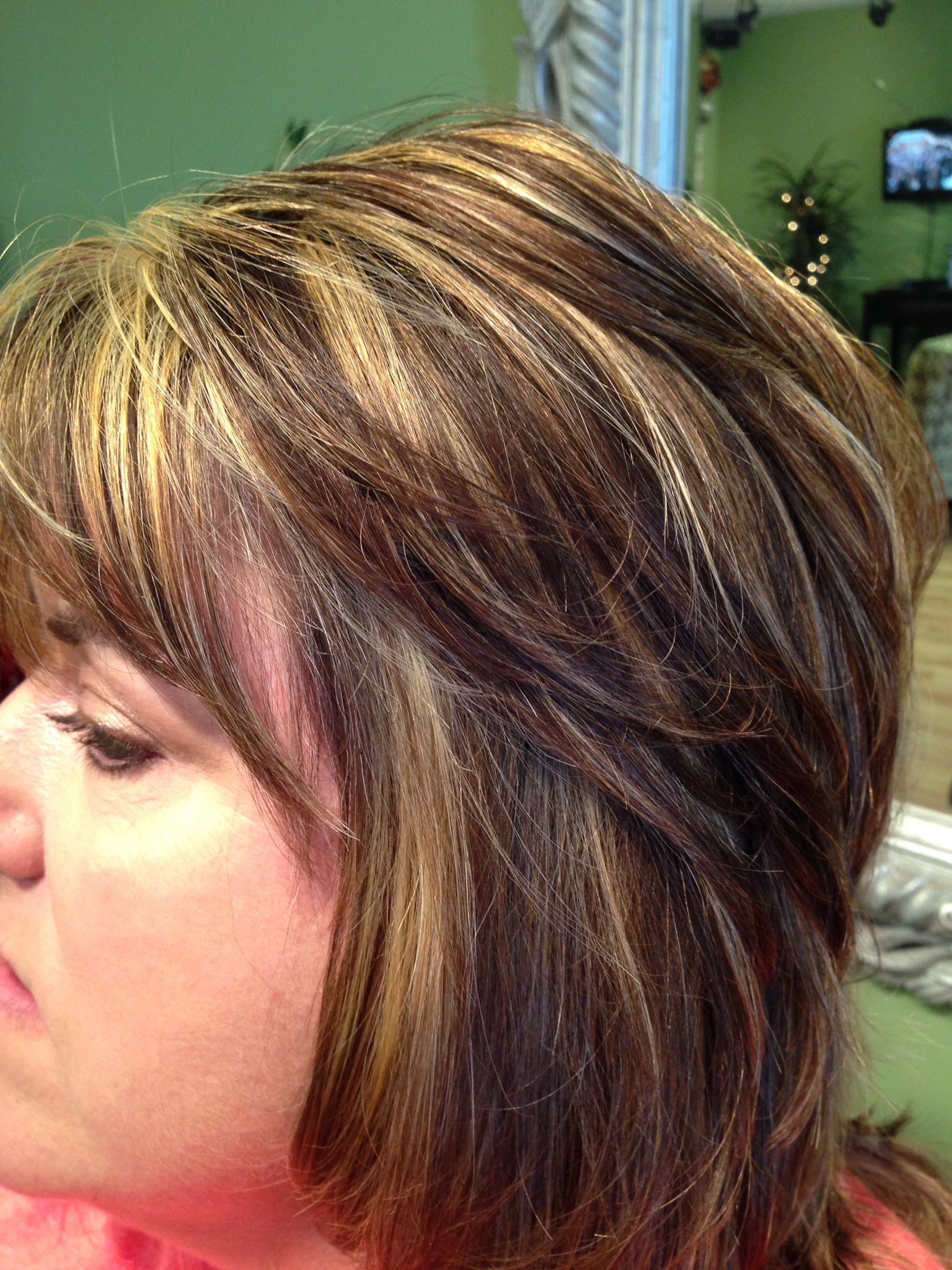 Jennifer Color Chunky foils J Michael Salon me Pinterest