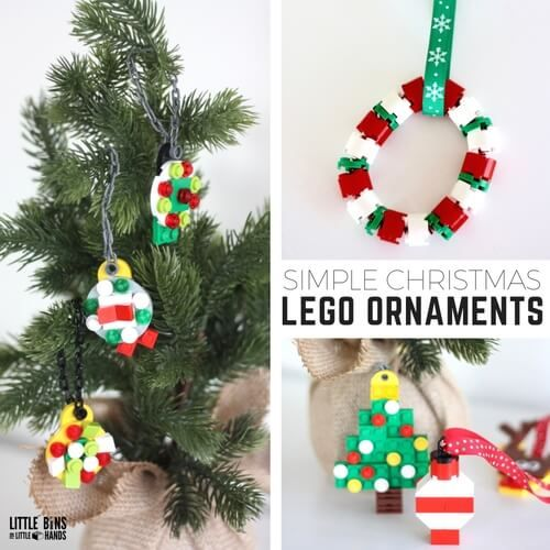 Simple To Make LEGO Christmas Ornaments for Kids To Make   Lego ...