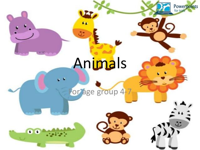Animals Powerpoints For Kids Baby Jungle Animals Animal Clipart Free Baby Clip Art