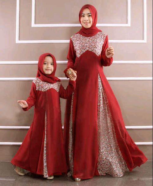 Desain Model Baju Muslim Anak Perempuan Baju Anak Hijab Fashion