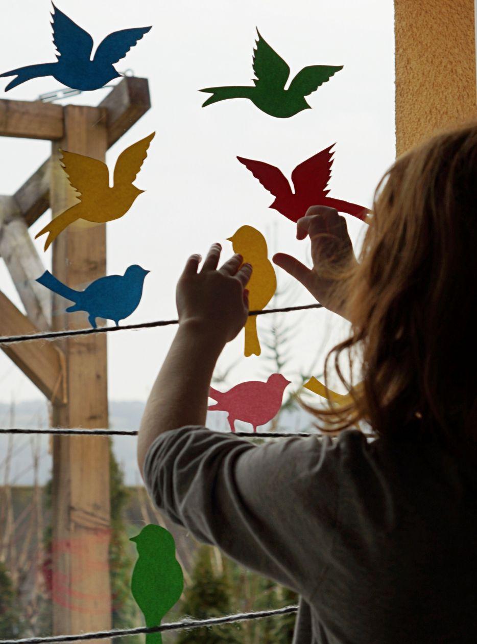 Photo of Hallo vår // fra et fargerikt fugleparadis ved vinduet vårt + utskriftsmal – Schwesternliebe & Wir