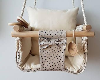 Schaukel Fürs Zimmer : handgefertigte baby und kleinkind schaukel stoff schaukel innen swing geschenk kinder zimmer ~ Watch28wear.com Haus und Dekorationen