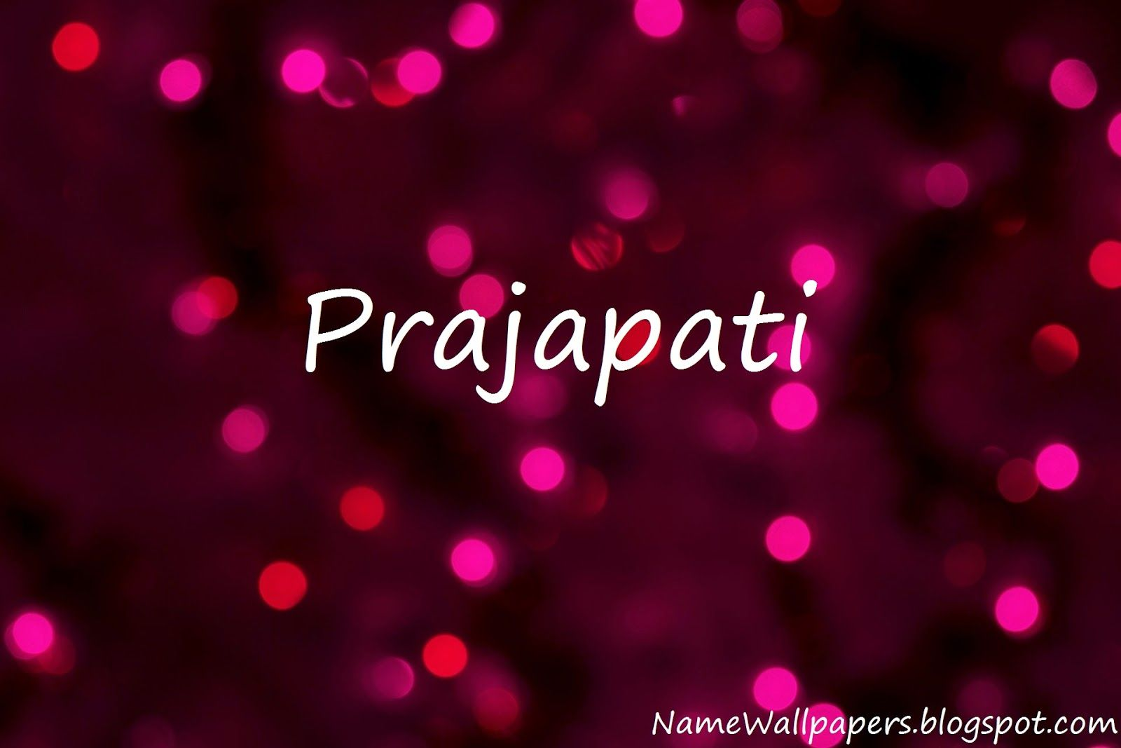 Prajapati Name Wallpapers Wallpaper Urdu