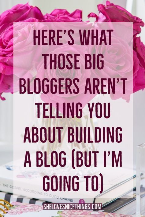 The One Thing No One Tells You About Starting a Blog #bloggonh You're not crazy. There's a reason that you FEEL that way when it comes to blogging though... blogging for beginners, blogging information #bloggonh