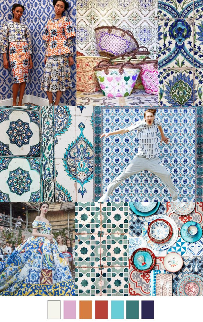 Design Trending Inspiration: Pattern Trends By Pattern Curator -Eclectic Trends