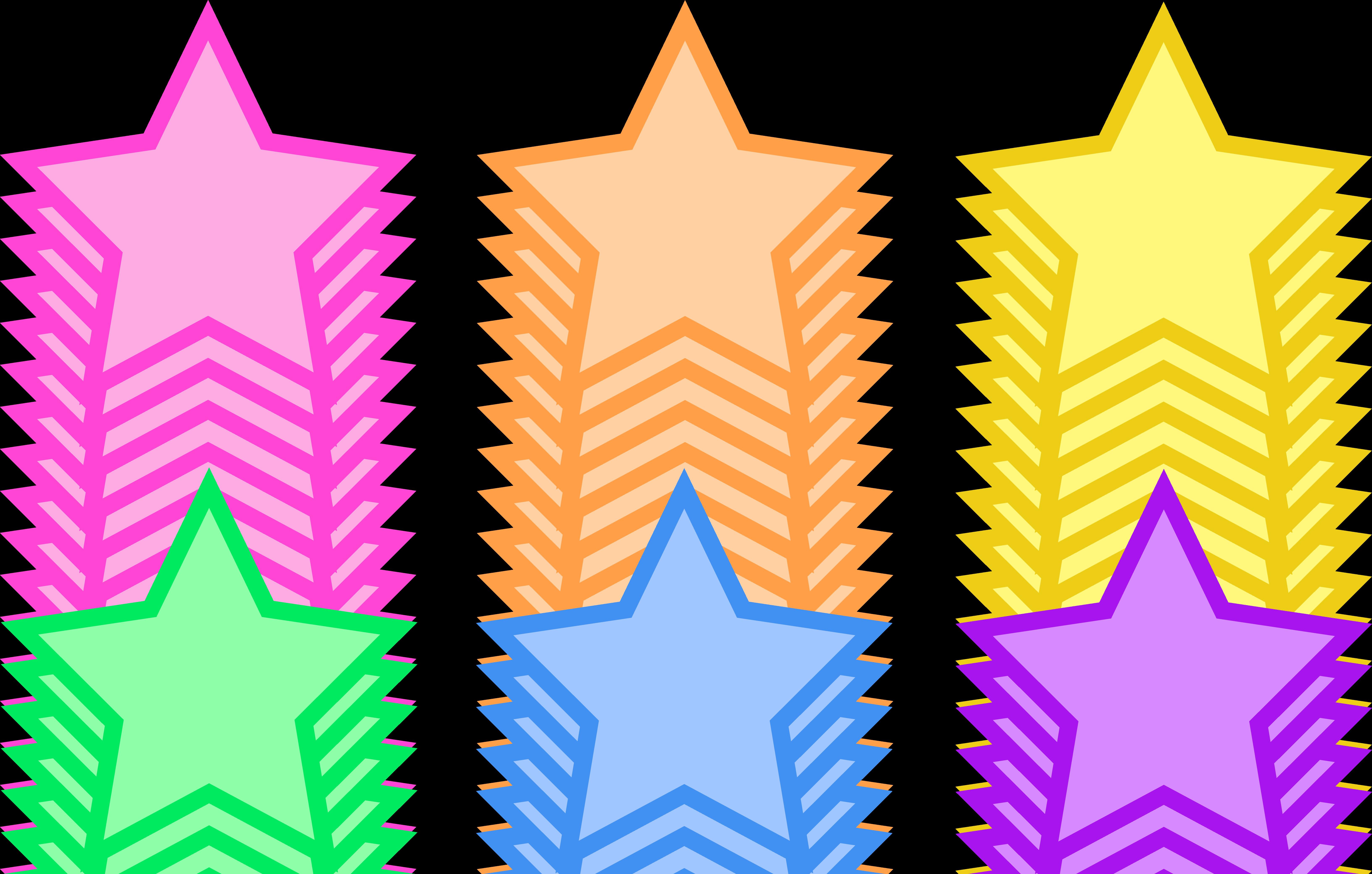 animated star clip art pastel rainbow party stars planets sun rh pinterest ca star clipart free black and white star clipart free black and white