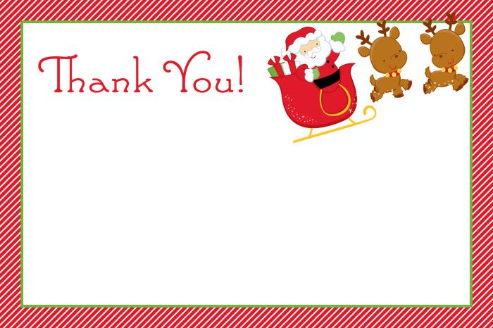 Thank You Note Card Photoshop Christmas Card Template Christmas Card Template Thank You Card Template