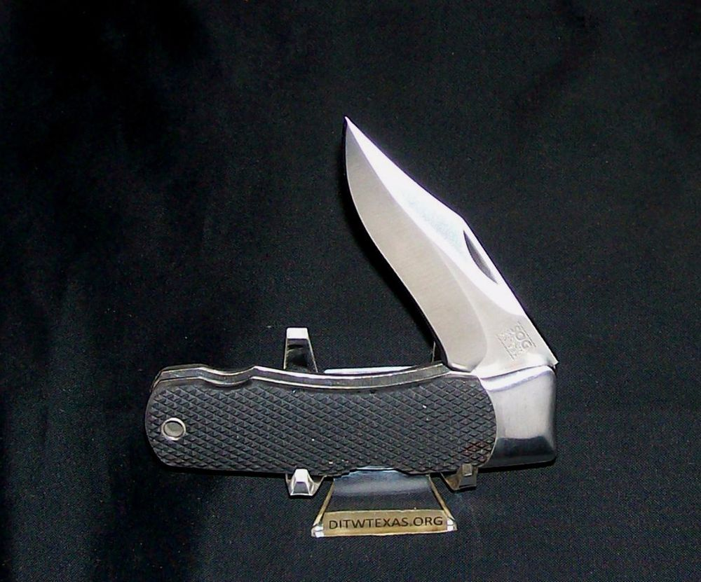 SOG Stingray Knife Specialty Lockback W/Kraton Handles