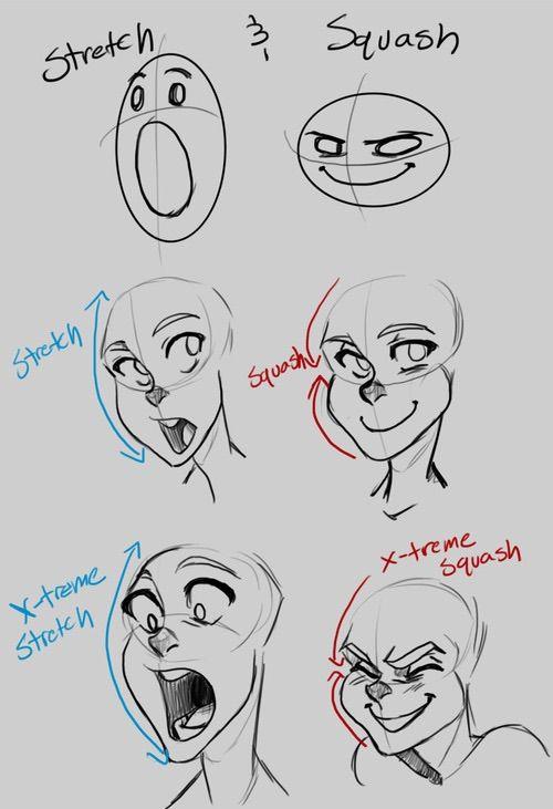 Cartoon facial emotions