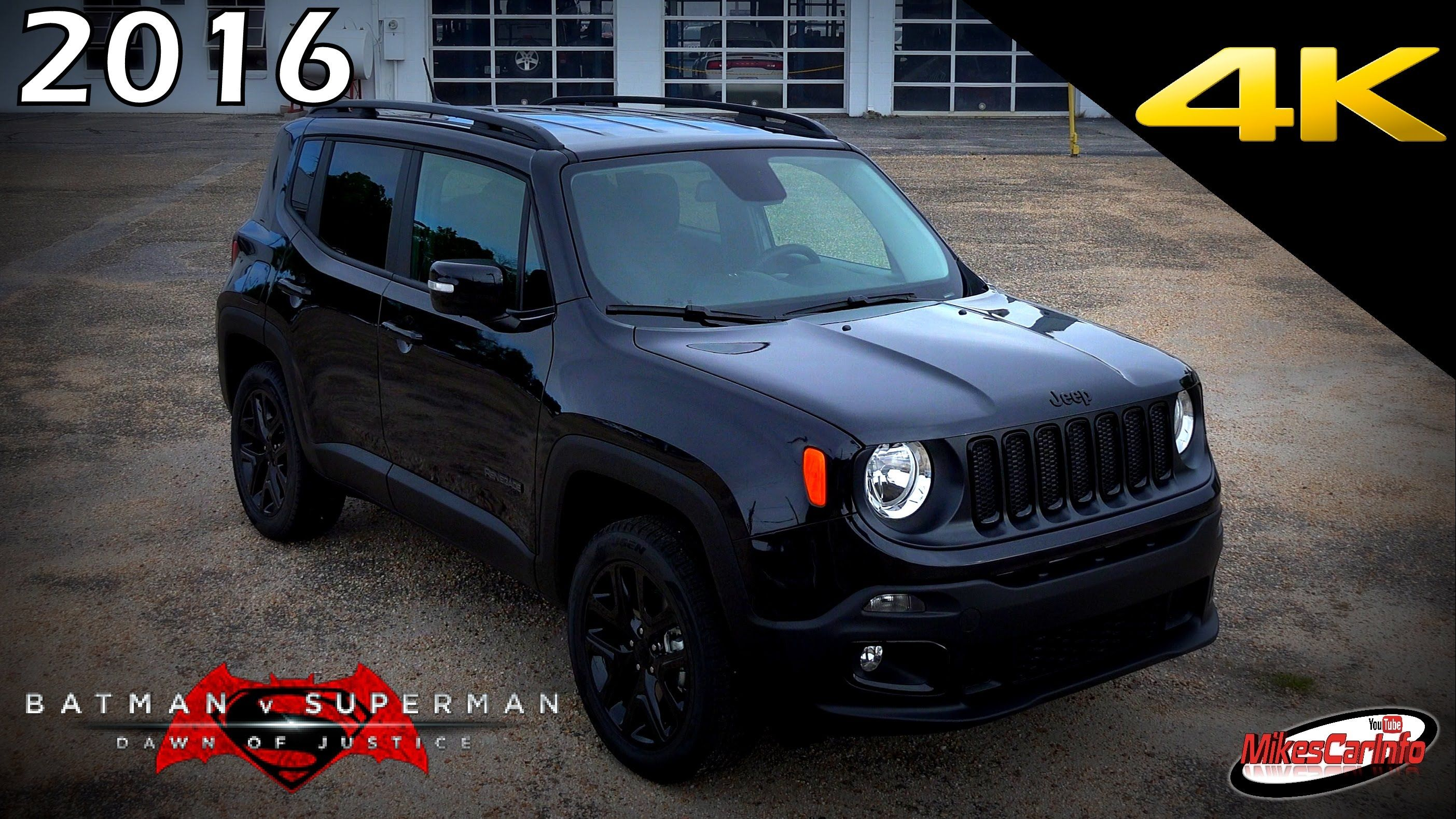 2016 Jeep Renegade Batman V Superman Dawn Of Justice Special