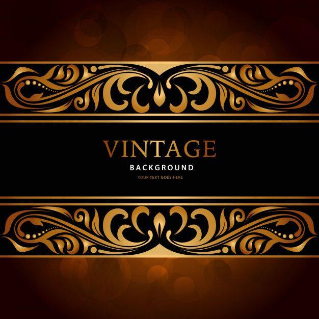 Download Luxury Vintage Ornament Background For Free Vintage Ornaments Vector Free Luxury Vintage