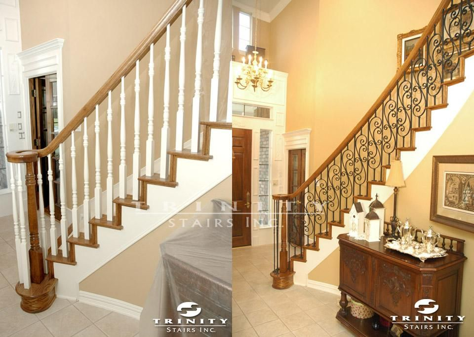 Stair Remodeling Before U0026 After Gallery | Trinity StairsTrinity Stairs