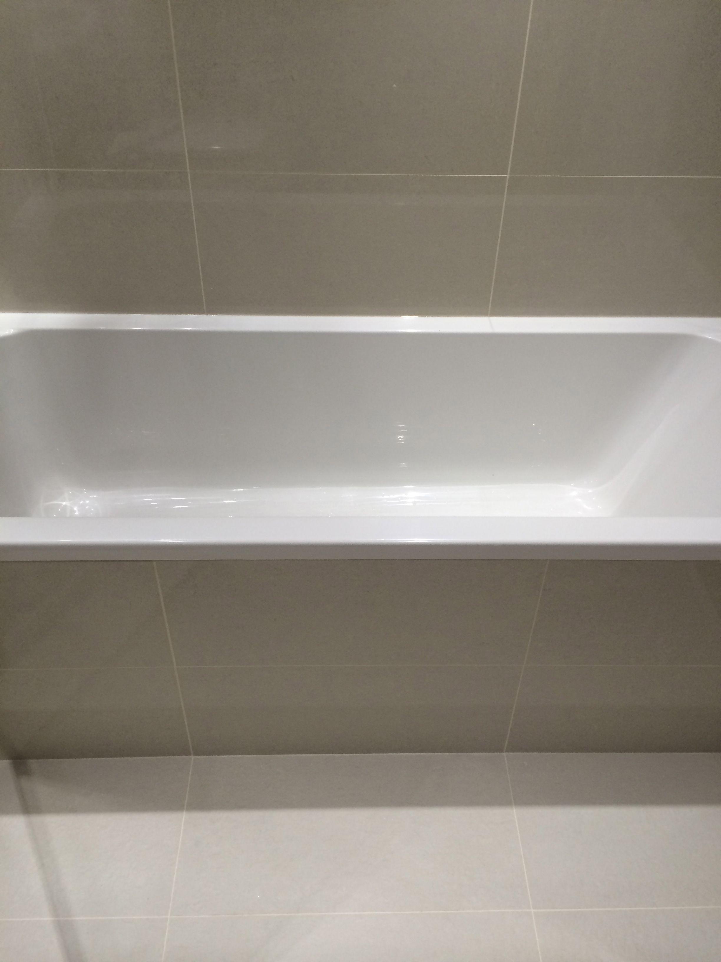 Bathroom Refit In Canary Wharf London Tiles X Mm Throughout - Bathroom refit