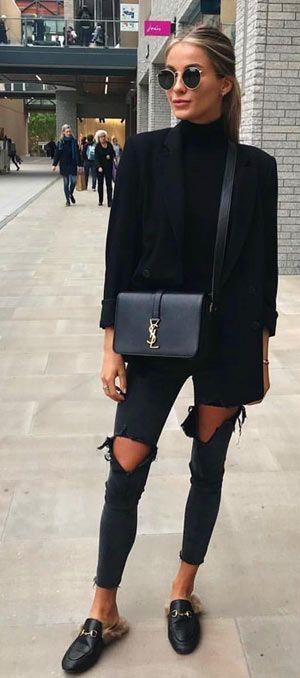 Über 40 einfache und elegante Winter-Outfit-Ideen für Damen   – Fashion