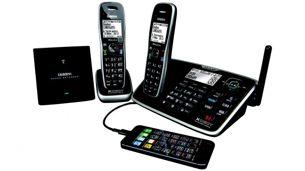 Uniden XDECT 8155+1 Bluetooth Cordless Phone