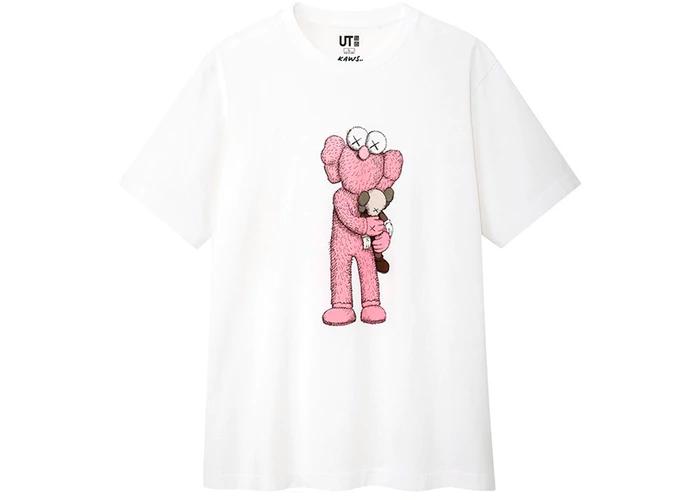 Pink Color 2018 KAWS HOLIDAY COMPANION Collection T-SHIRT