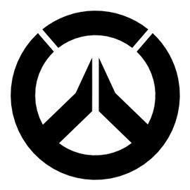 overwatch symbol stencil - Stencils For Boys